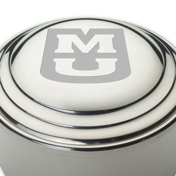 University of Missouri Pewter Keepsake Box - Image 2