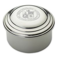 Virginia Tech Pewter Keepsake Box