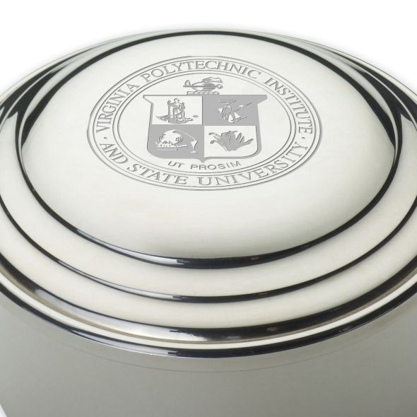 Virginia Tech Pewter Keepsake Box - Image 2