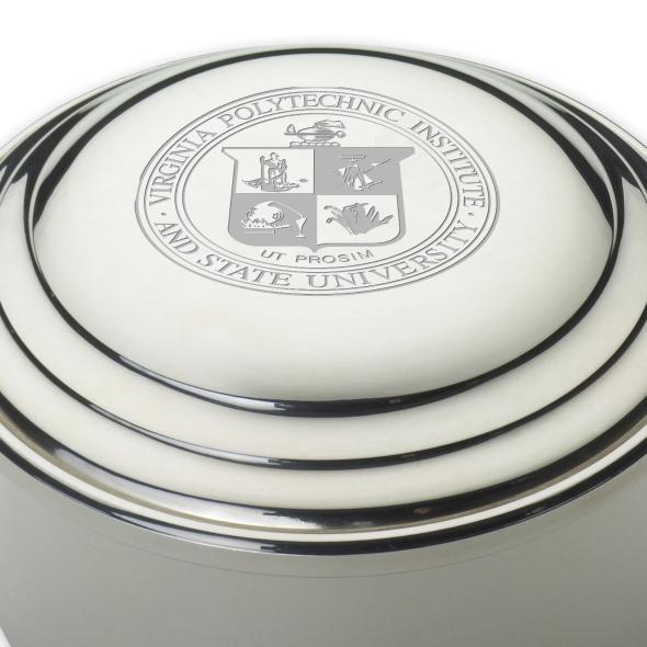 Virginia Tech Pewter Keepsake Box - Image 2