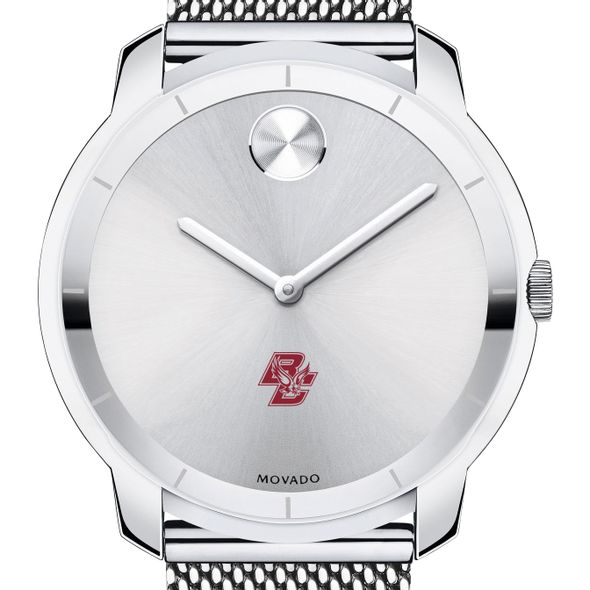 Boston College Men's Movado Stainless Bold 44