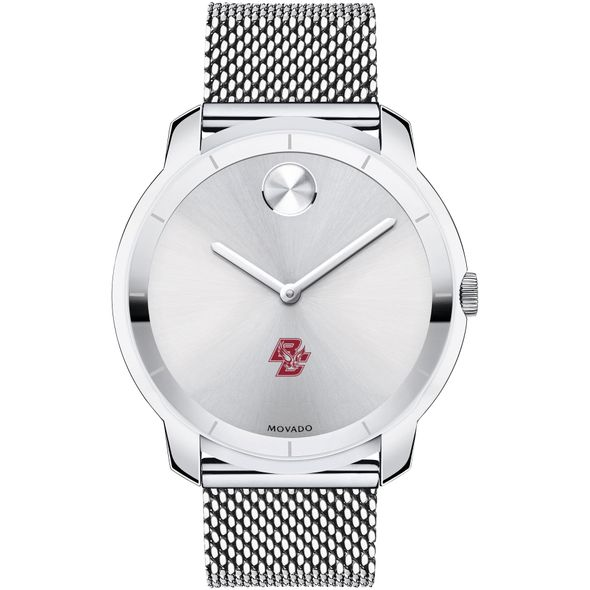 Boston College Men's Movado Stainless Bold 44 - Image 2
