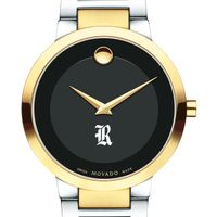 Rice University Men's Movado Two-Tone Modern Classic Museum with Bracelet
