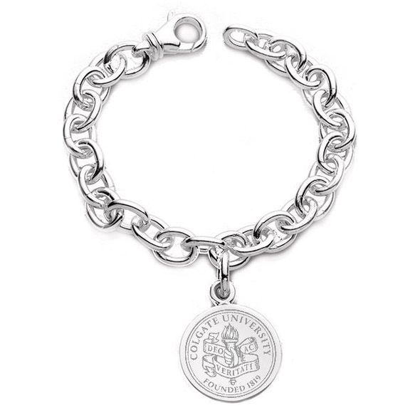 Colgate Sterling Silver Charm Bracelet