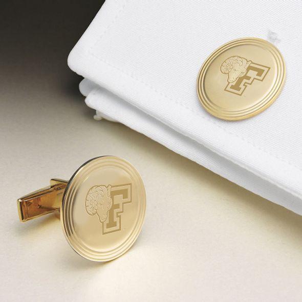 Fordham 18K Gold Cufflinks