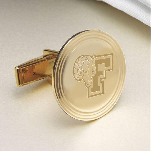 Fordham 18K Gold Cufflinks - Image 2