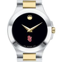 St. John's Women's Movado Collection Two-Tone Watch with Black Dial