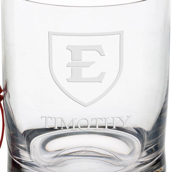East Tennessee State University Tumbler Glasses - Set of 4 - Image 3