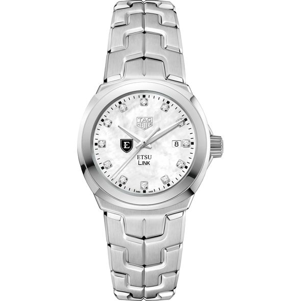 East Tennessee State University TAG Heuer Diamond Dial LINK for Women - Image 2