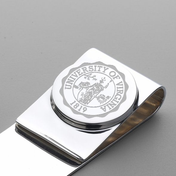 University of Virginia Sterling Silver Money Clip - Image 2