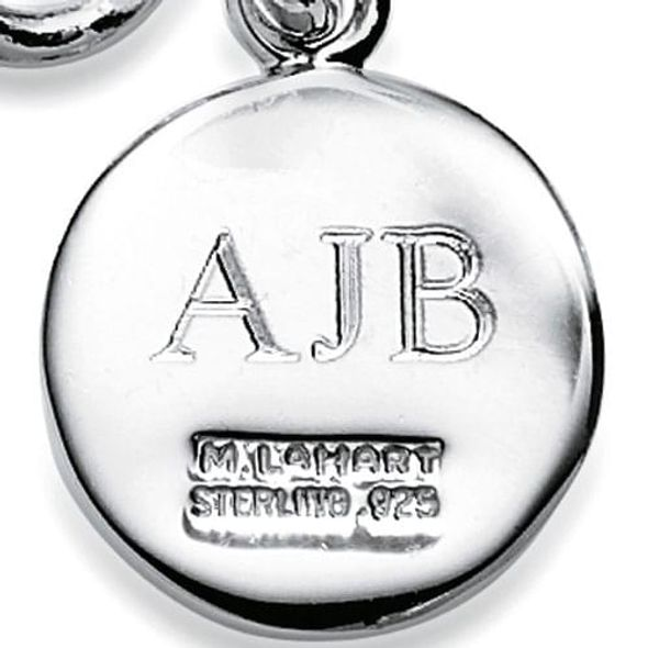 Michigan Ross Sterling Silver Insignia Key Ring - Image 3