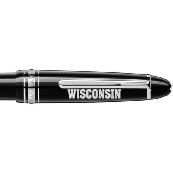 Wisconsin Montblanc Meisterstück LeGrand Ballpoint Pen in Platinum - Image 2