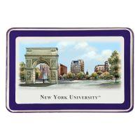 NYU Eglomise Paperweight