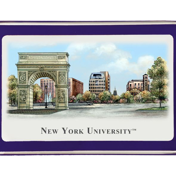 NYU Eglomise Paperweight - Image 2