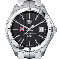 Colgate Men's Link Watch with Black Dial