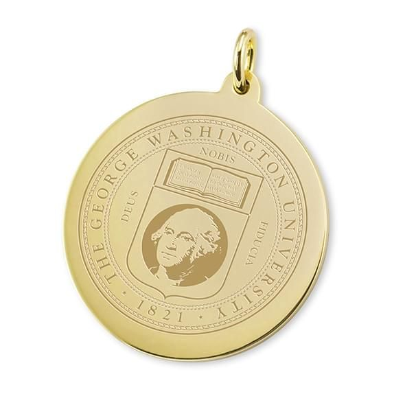 George Washington 14K Gold Charm - Image 1