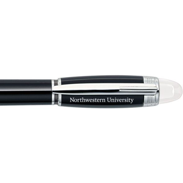 Northwestern University Montblanc StarWalker Fineliner Pen in Platinum - Image 2