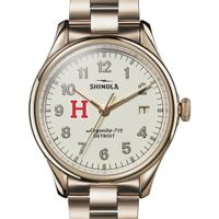 Harvard Shinola Watch, The Vinton 38mm Ivory Dial