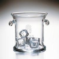 Brown Glass Ice Bucket by Simon Pearce