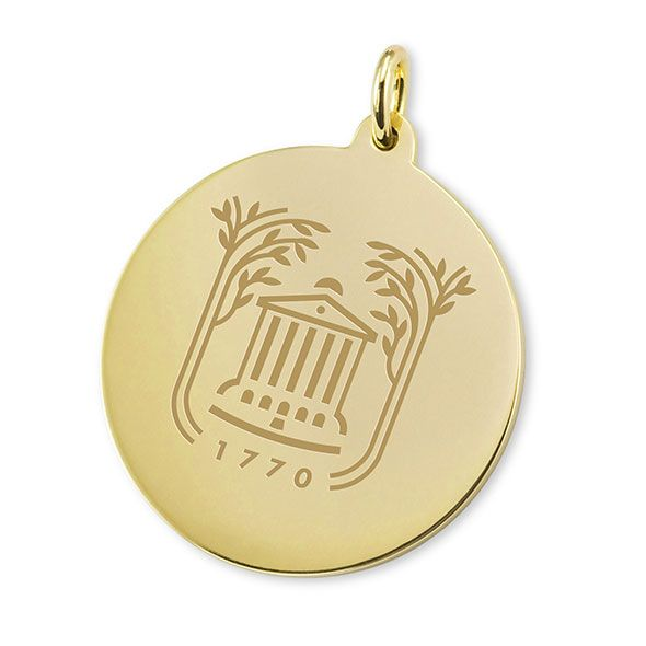 College of Charleston 18K Gold Charm - Image 1