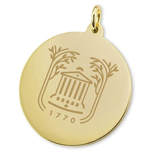 College of Charleston 18K Gold Charm - Image 2