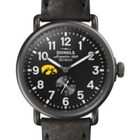 Iowa Shinola Watch, The Runwell 41mm Black Dial