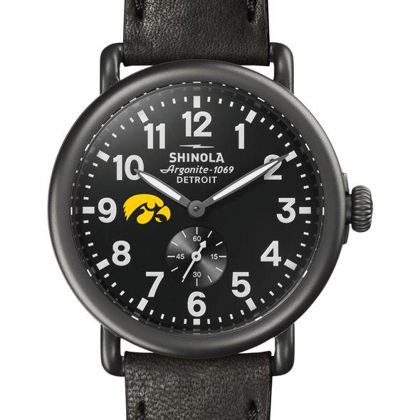 Iowa Shinola Watch, The Runwell 41mm Black Dial