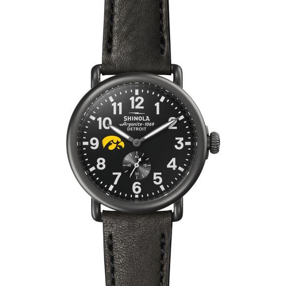 Iowa Shinola Watch, The Runwell 41mm Black Dial - Image 2