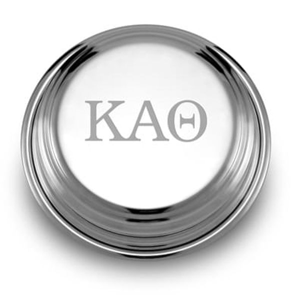 Kappa Alpha Theta Pewter Paperweight