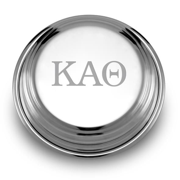 Kappa Alpha Theta Pewter Paperweight - Image 2