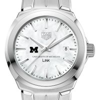 University of Michigan TAG Heuer LINK for Women