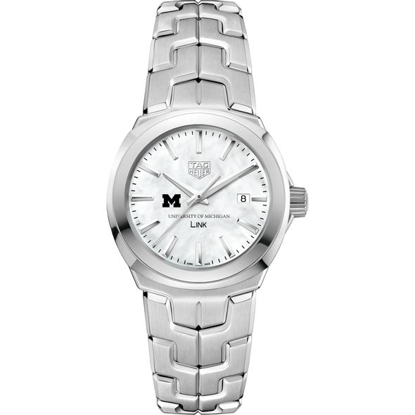 University of Michigan TAG Heuer LINK for Women - Image 2
