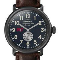 MIT Shinola Watch, The Runwell 47mm Midnight Blue Dial