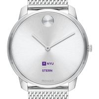 NYU Stern School of Business Men's Movado Stainless Bold 42