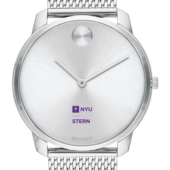 NYU Stern School of Business Men's Movado Stainless Bold 42 - Image 1