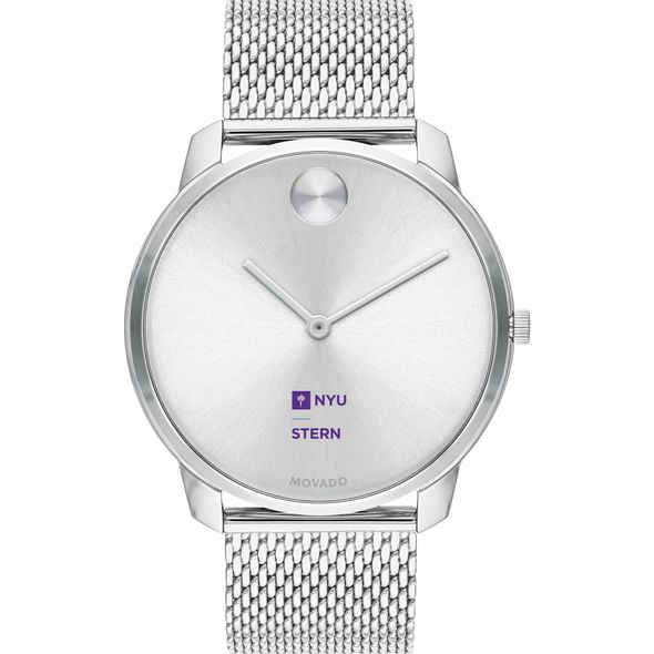 NYU Stern School of Business Men's Movado Stainless Bold 42 - Image 2