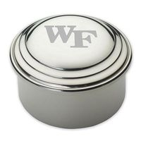 Wake Forest Pewter Keepsake Box