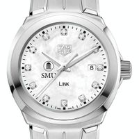 Southern Methodist University TAG Heuer Diamond Dial LINK for Women