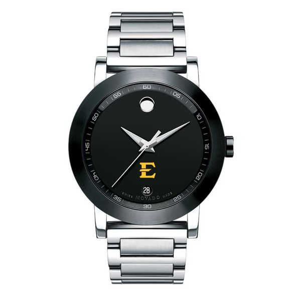 East Tennessee State University Men's Movado Museum Sport Bracelet - Image 2