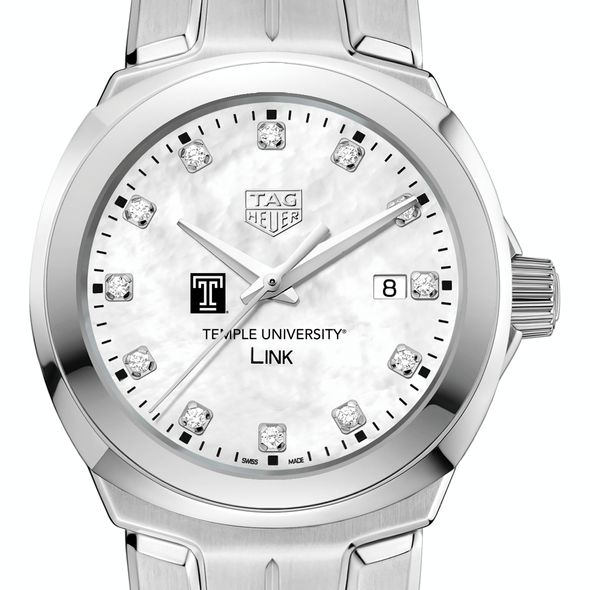 Temple TAG Heuer Diamond Dial LINK for Women