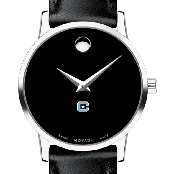 Citadel Women's Movado Museum with Leather Strap