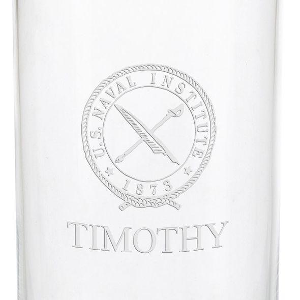 U.S. Naval Institute Iced Beverage Glasses - Set of 2 - Image 3