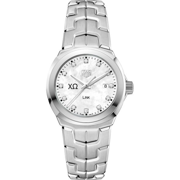 Chi Omega TAG Heuer Diamond Dial LINK for Women - Image 2