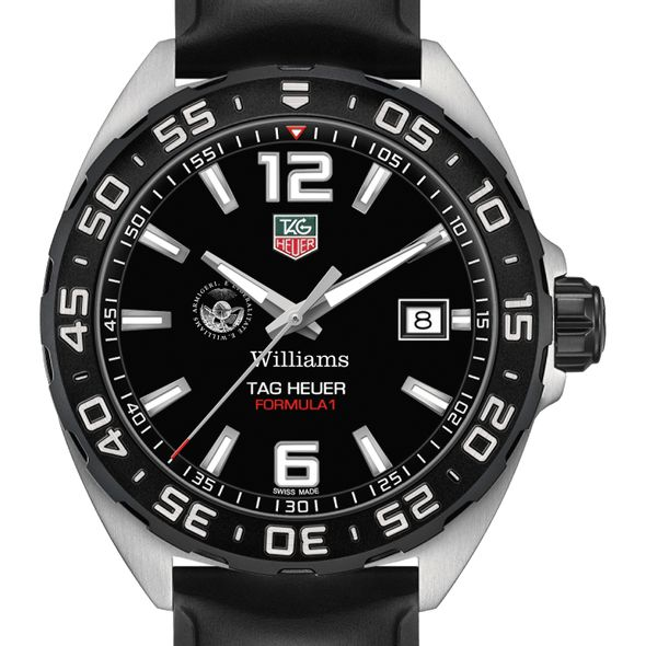 Williams College Men's TAG Heuer Formula 1 with Black Dial