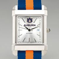 Auburn University Collegiate Watch with NATO Strap for Men