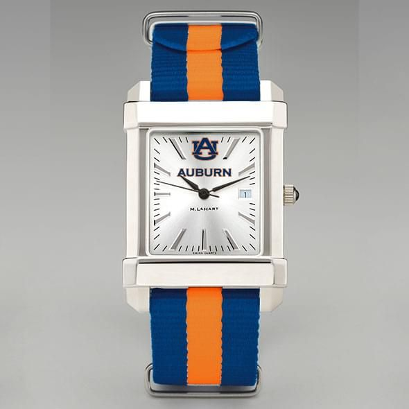 Auburn University Collegiate Watch with NATO Strap for Men - Image 2