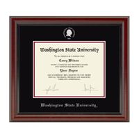 Washington State University Diploma Frame, the Fidelitas