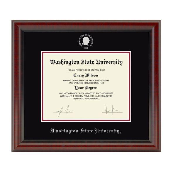 Washington State University Diploma Frame, the Fidelitas