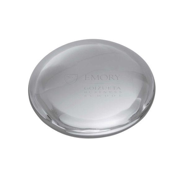 Emory Goizueta Glass Dome Paperweight by Simon Pearce