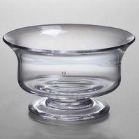 Yale SOM Simon Pearce Glass Revere Bowl Med